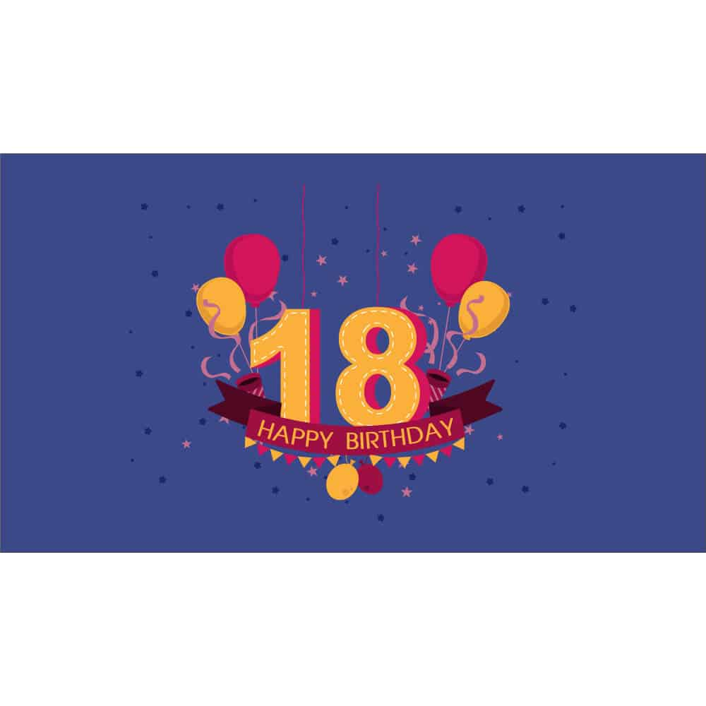 18th Birthday - 3